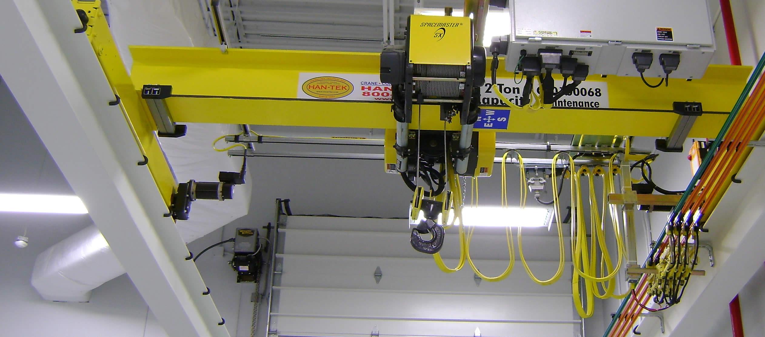 Han-Tek Material Handling Solutions - Warehouse Cranes
